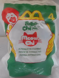 Collectible McDonald's Toy, Meow Chi