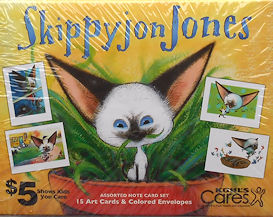 Collectible Skippyjon Jones Notecards