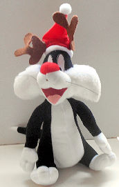 Collectible, Sylvester The Cat Reindeer Plush