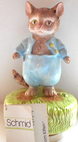 Collectible Tom Kitten Music Box