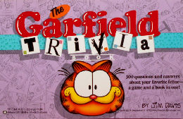 Collectible Garfield Book, Garfield Trivia