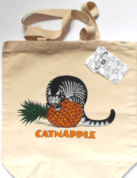 Collectible Kliban Cat Tote, Catnapple