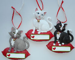 Sample, Cat Ornament, Personalize