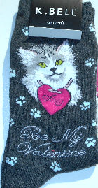 Sample, Cat Socks, Be My Valentine