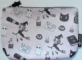 Sample, Cosmetic Bag, Witches And Cats