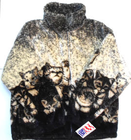 Sample, Fleece Jacket, Kittens