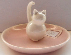 Sample, Cat Ring Holder And Trinket Dish