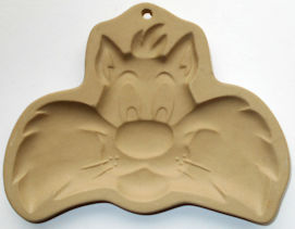 Collectible Sylvester The Cat Cookie Mold