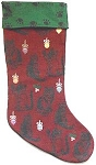 Cats And Ornaments Christmas Stocking