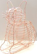 Cat Wire Basket, Large