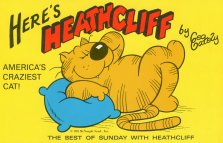 Collectible Cat Book, Here's Heathcliff