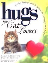 Collectible Cat Book, Hugs For Cat Lovers
