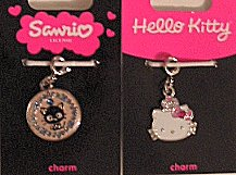 Cat Charms, Chococat Or Hello Kitty
