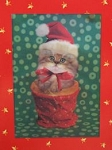 Collectible Cat Christmas Cards, Keith Kimberlin