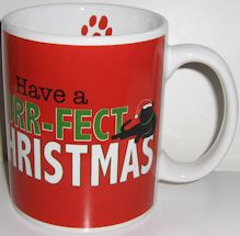 Christmas Cat Mug, Purr-fect Christmas