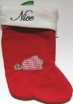 Cat Christmas Stocking, Naughty Or Nice