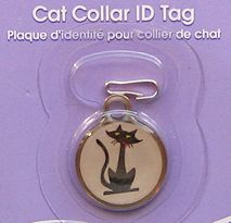Colllectible Cat Collar ID Tag