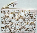 Cat Cosmetic Bag, Glamorous Cats