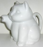Cat Creamer, White
