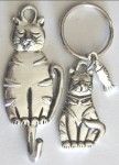 Cat Key Hook And Key Ring Set