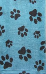 Cat Kitchen Towel, Cat Paw Prints
