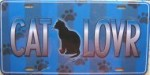 Cat Lover License Plate Or Cat Lover Sign