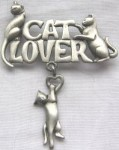 Cat Pin, Cat Lover