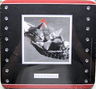 Cat Mouse Pad, Two Kittens In A Hammock, Keith Kimberlin