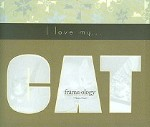 Cat Photo Mouse Pad, I Love My Cat