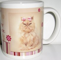 Rachael Hale Cat Mug, This IS My Happy Face