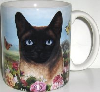 Siamese Cat Mug, Pawsitively Purrfect
