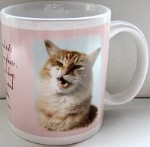 Cat Mug, Cat Coffee Mug, Siamese Cat Mug, Tuxedo Cat Mug, Gary Patterson cat mug, Cat Teabag Holder, Cat Creamer, Cat Coasters, Car Coasters