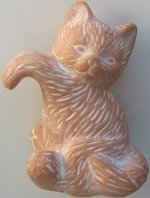Collectible Kitten Pot Hanger