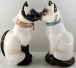 Cat Salt & Pepper Set,  Siamese Cats