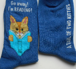 Cat Socks, A Tail Of Two Kitties