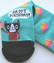 Cat Socks, Happy Birthday