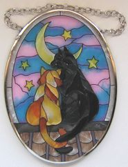 Cat Sun Catcher, Moon Cats