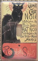 Cat Light Switch Cover, Chat Noir