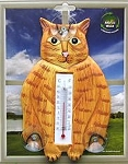 Cat Thermometer, Orange Cat