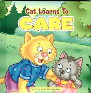 Collectible Children's Cat Book, Cat Learns To Care