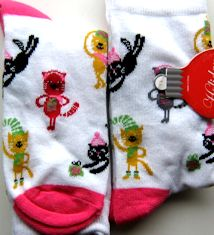 Christmas Cat Socks, Cats With Hats