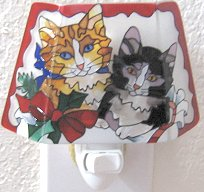 Christmas Nightlight,  Kittens Nightlight