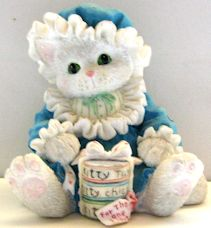 Collectible Calico Kitten, For The One I Love