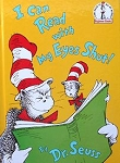 Collectible Cat Book, Cat In The Hat, I Can Read With My Eyes Shut