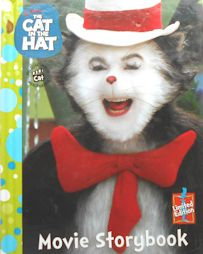 collectible cat book cat in the hat movie book