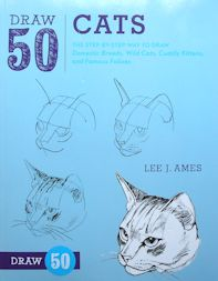 Collectible Cat Book, Draw 50 Cats