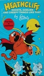 Collectible Cat Book, Heathcliff Ghosts, Goblins