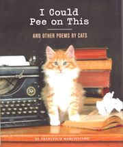 Collectible Cat Book, I Could Pee On This