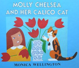 Collectible Cat Book, Molly Chelsea And Her Calico Cat