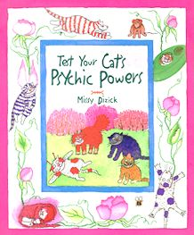 Collectible Cat Book, Test Your Cat's Psychic Powers